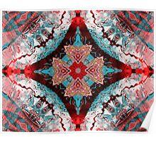 Aquatic Lace 6 Poster