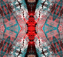 Aquatic Lace 7 by Shawna Rowe