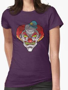 Badass Clown Womens Fitted T-Shirt
