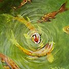 Koi Fish Pond II by Cherie Roe Dirksen