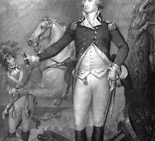 General George Washington At Trenton by warishellstore
