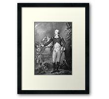 General George Washington At Trenton Framed Print