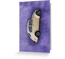 VW Beetle iPhone Case Greeting Card
