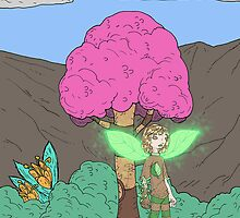 Eight Realms: Tanora the Wood Sprite... by kangarookid