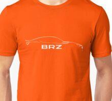 Subaru BRZ silhouette - White Unisex T-Shirt