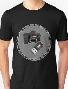 .•*¨*•♪♫•*¨*TAKE YOUR MEMORY WITH U WHEN U GO ..TEE SHIRT...•*¨*•♪♫•*¨* T-Shirt