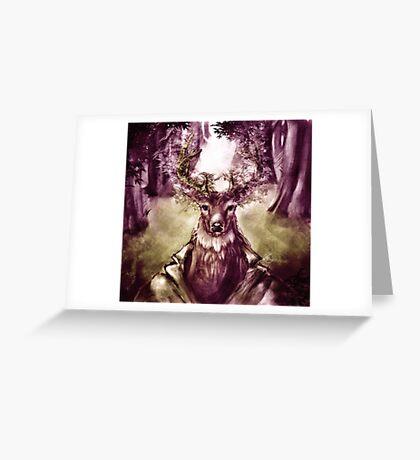 Forest Elder Greeting Card