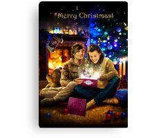 Christmas miracle Canvas Print