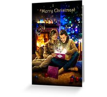 Christmas miracle Greeting Card