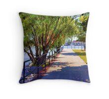 Liberty Harbor Throw Pillow