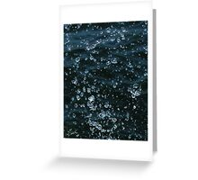 Crystal Droplets Greeting Card