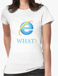 Typical Internet Explorer Womens Fitted T-Shirt