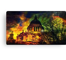 St. Pauls Cathedral Canvas Print