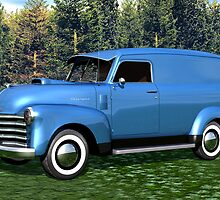 1951 Chevrolet Panel Truck by Walter Colvin