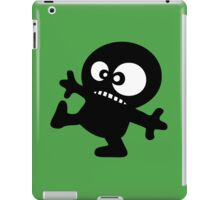 man cartoon fun funny swag boy iPad Case/Skin