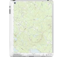 USGS TOPO Map New Hampshire NH Parker Mountain 20120508 TM iPad Case/Skin