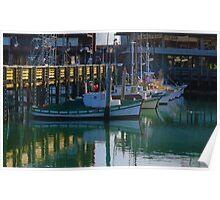 Alioto's Tarantino's Wharf Fishing Boats Poster
