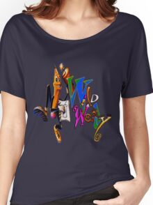 Wild Woody Women's Relaxed Fit T-Shirt