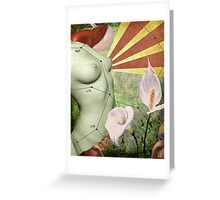 Liver Qi Elation Greeting Card