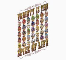 Variety is the spice of life Kids Clothes