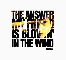 Bob Dylan blowin' in the wind  Unisex T-Shirt