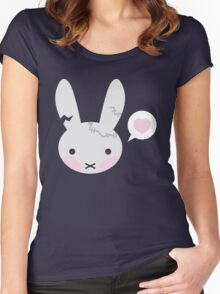 Bunny Wants Some Love Women's Fitted Scoop T-Shirt