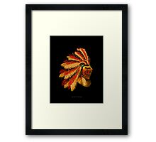 Indian Knight 129WP Framed Print