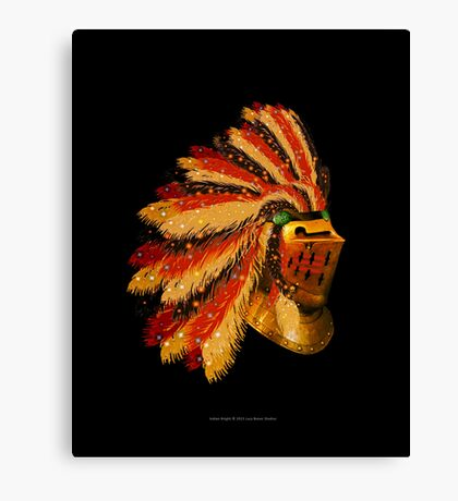 Indian Knight 129WP Canvas Print