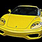Ferrari 360 Modena in Yellow by Samuel Sheats
