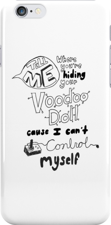 5 Seconds Of Summer-Voodoo Doll Lyric Art  by liveoffcourage