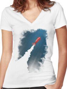 Octonaut Women's Fitted V-Neck T-Shirt