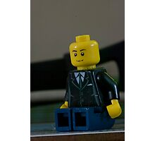 Lego Man Photographic Print