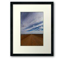 Tibooburra, NSW Framed Print