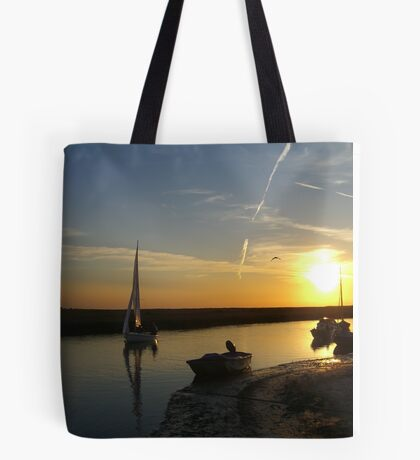 Blakeney Quay Tote Bag