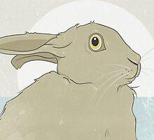 Golden Hare No.5 by Stu  Jones