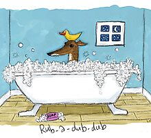 Greyhound Bath Night by jameshardy