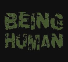 Being Human One Piece - Short Sleeve