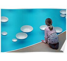 The Calm of Water Chimes  Poster