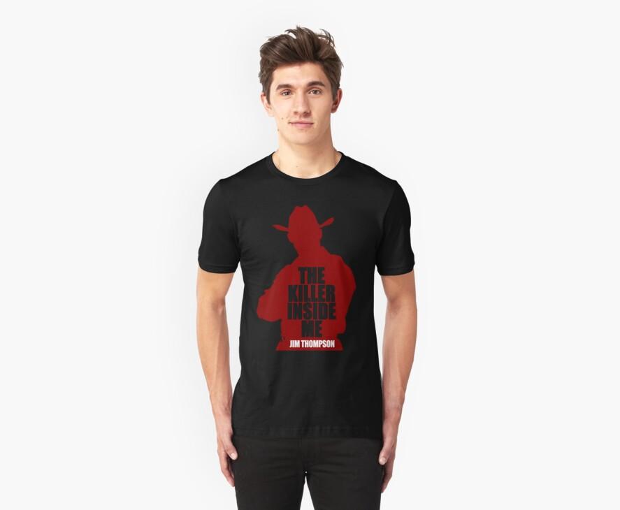 Killer Inside Me - Jim Thompson - Classic Noir T-Shirt by OutlawOutfitter