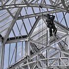 Mountaineer's glass ceiling by awefaul