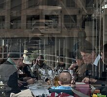 Table for seven and a baby by awefaul