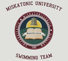 Miskatonic University Swimming Team Shirt by PCB1981