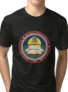 Miskatonic University seal T-shirt Tri-blend T-Shirt