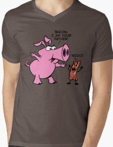 Bacon, I Am Your Father Mens V-Neck T-Shirt