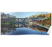 Knaresborough Reflections - HDR Poster