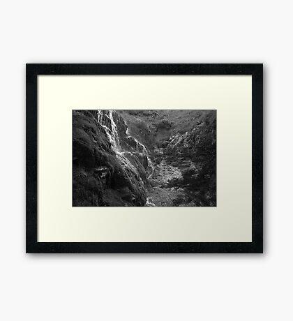 Moss Force, Lake District National Park. Framed Print