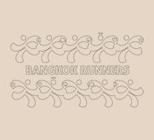"Bangkok Runners | ""Embroidered"" by Lin Da"