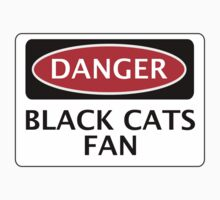 DANGER SUNDERLAND, BLACK CATS FAN, FOOTBALL FUNNY FAKE SAFETY SIGN by DangerSigns