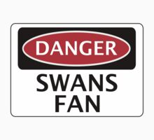 DANGER SWANSEA CITY, SWANS FAN, FOOTBALL FUNNY FAKE SAFETY SIGN T-Shirt