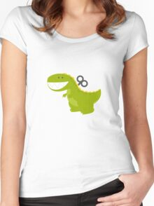Dino Toys Women's Fitted Scoop T-Shirt